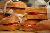 scrumptious sandwiches poster
