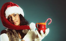 image of mug shot  - Christmas time concept - JPG