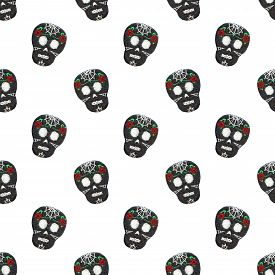 picture of skull  - Sugar skull - JPG