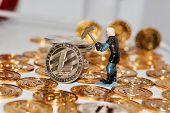 Litecoin Mining Coin poster