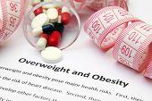 Постер, плакат: Избыточный вес и ожирение