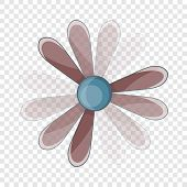 Propeller Icon. Cartoon Illustration Of Propeller Vector Icon For Web poster