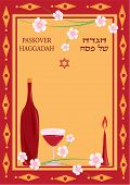 picture of seder  - congratulations to the Jewish holiday of Passover - JPG