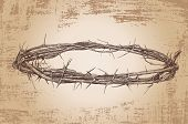 picture of humility  - crown of thorns vintage christian - JPG