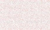 Binary Code Red Background With Two Binary Digits, 0 And 1 Isolated On A White Background. Algorithm poster