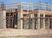 pic of firehouse  - Another view of the construction site for the Firehouse - JPG