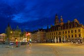 Grand Place In Lille