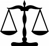 foto of scales justice  - Ancient scales or Justice scales - JPG
