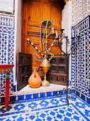 image of shisha  - Typical Moroccan Shisha on the old medina in Fes Morocco Africa - JPG