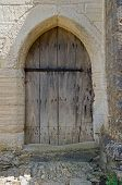 image of tithe  - Vintage wooden door - JPG
