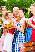 foto of lederhosen  - In Beer garden  - JPG