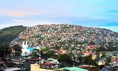 picture of luzon  - Baguio city at dusk Luzon Island Philippines - JPG
