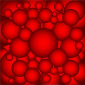 picture of cannon-ball  - A collection of red hot metal ball bearings as a background - JPG