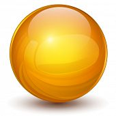 stock photo of ball bearing  - 3D sphere - JPG
