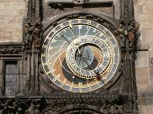 Prague astronomical clock - dial