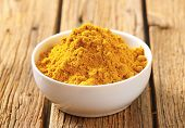 stock photo of garam masala  - bowl of curry powder - JPG