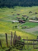 pic of greater  - Shenako village on the southern slope of the Greater Caucasus - JPG