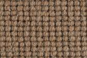 picture of linoleum  - Closeup detail of brown carpet texture background - JPG