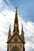 foto of kensington  - The Albert Memorial in Kensington Gardens - JPG