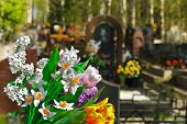 picture of funeral  - Flowers - JPG