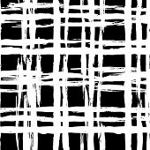 pic of cross-hatch  - Vintage striped seamless pattern with crossing brushed lines in black and white colors - JPG