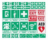 pic of singing  - Vector pack of different Emergency Evacuations Sings - JPG
