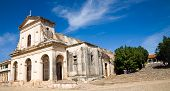 foto of trinity  - The Holy Trinity cathedral of the colonial town of Trinidad in Cuba - JPG