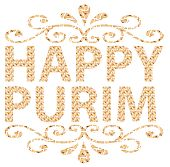 stock photo of purim  - Traditional Jewish holiday  - JPG