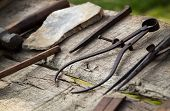 stock photo of woodcarving  - close - JPG