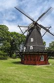 pic of windmills  - Rustic old vintage windmill in Copenhagen - JPG
