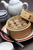 stock photo of siomai  - shu mai - JPG