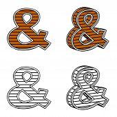 stock photo of ampersand  - Ampersand  - JPG