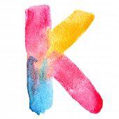 stock photo of letter k  - Letter K  - JPG