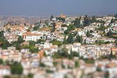 picture of tilt  - Granada in Andalusia region of Spain - JPG