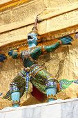 picture of guardian  - Bangkok Thailand Southeast Asia  - JPG