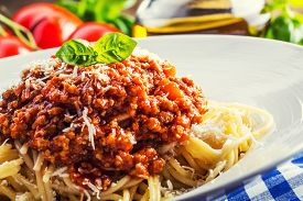picture of basil leaves  - Spaghetti - JPG