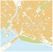 Постер, плакат: Palma city map