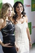WEST HOLLYWOOD - APR 13: Fergie aka Stacy Ferguson, Kimberly Snyder at the Kimberly Snyder Book Laun