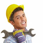 Builder With Wrench