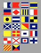 Maritime Signal Flags.Eps