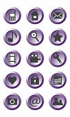 stock photo of hookup  - Different icons for use in mobile phone - JPG