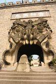 foto of terrific  - Terrific gate of the Ghost City - JPG