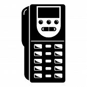 Remote Controller Icon. Simple Illustration Of Remote Controller Icon For Web Design Isolated On Whi poster