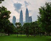 pic of petronas towers  - KUALA LUMPUR  - JPG