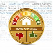foto of meter  - An image of a home appraisal meter - JPG