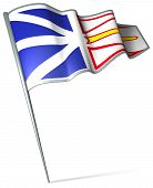 Flag Of Newfoundland And Labrador (canada)