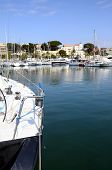 Marina And Village Of Bandol In France