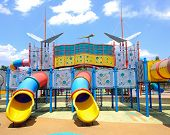 stock photo of playground  - CYBERJAYA - JPG