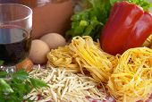 stock photo of italian food  - Pasta - JPG