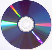 stock photo of diffraction  - DVD digital video disk - JPG